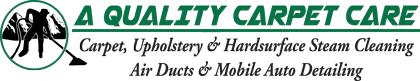 A Quality Carpet Care Logo